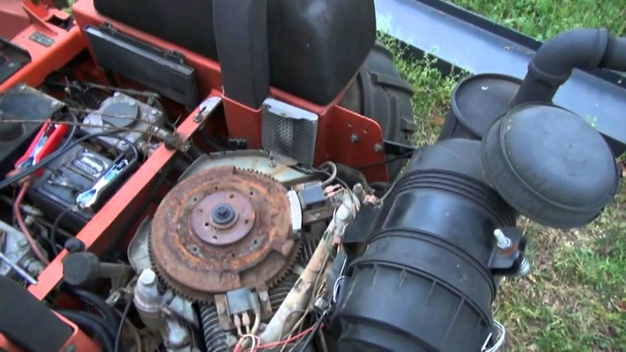 Kohler 27 Hp Engine Problems Home Design Ideas Wiring Diagram Junky Mower No Start Spark 27hp You