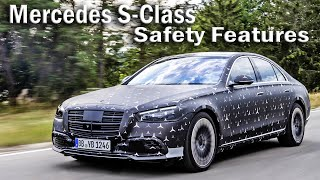 2021 Mercedes-Benz S-Class Safety Features, Rear Axle Steering, Rear Seat Airbag