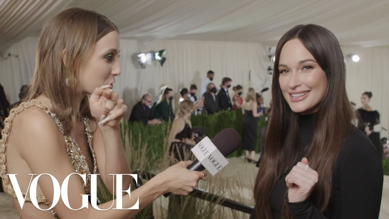 Kacey Musgraves on Her Equestrian Chic Met Gala Look | Met Gala 2021 With Emma Chamberlain | Vogue