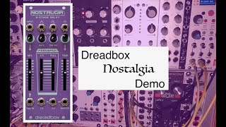 Dreadbox Nostalgia/ Doepfer A-138s Stereo Mixer Demo