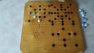 Настольные игры. Урок 48. Мельница, форма игрового поля.