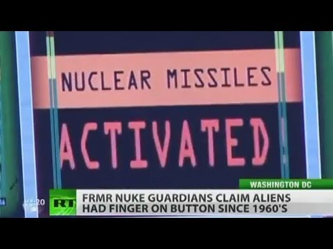 UFO'S WILL PREVENT A NUCLEAR WAR SAY MISSILE LAUNCH OFFICERS 2013. HD