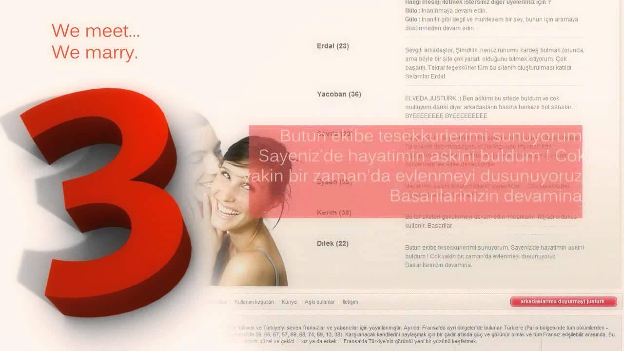 Turkish dating website