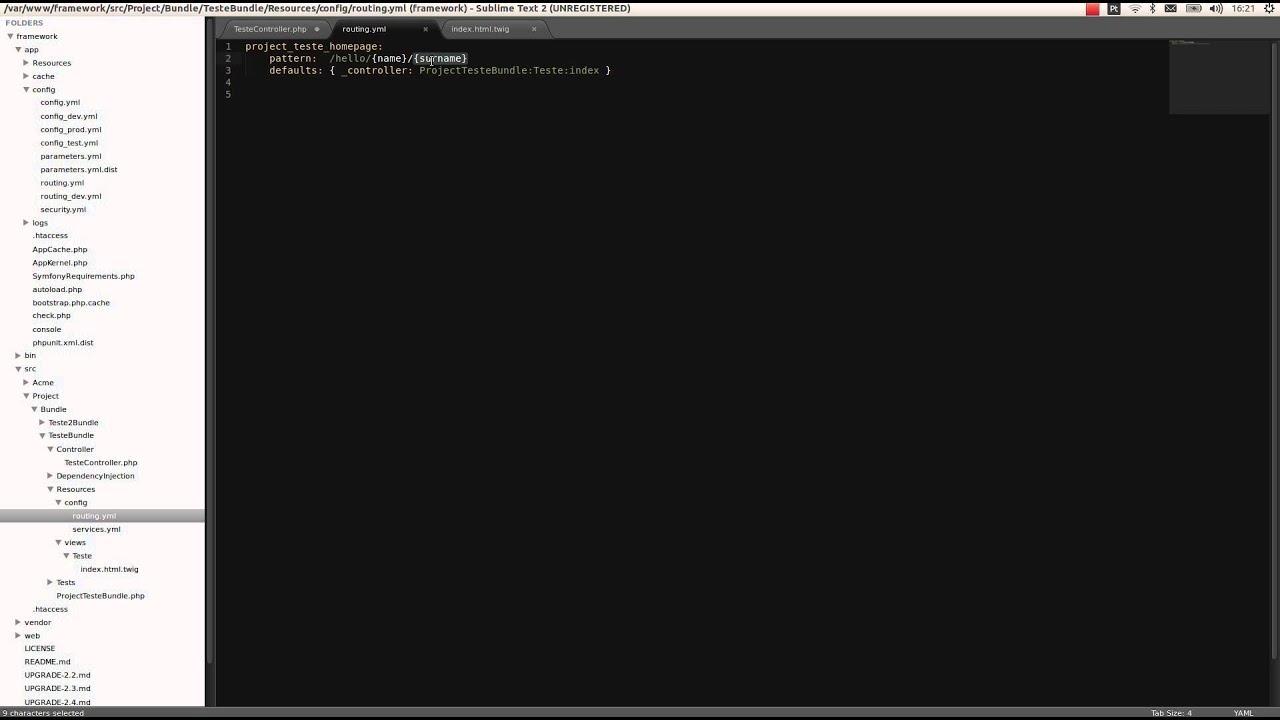 Symfony 2 - Framework PHP ( Parte 02 ) - YouTube