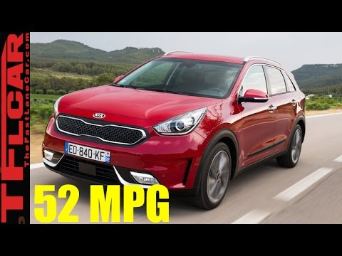 2017 Kia Niro Hybrid Review Who Says Crossovers Can t be Fuel Efficient