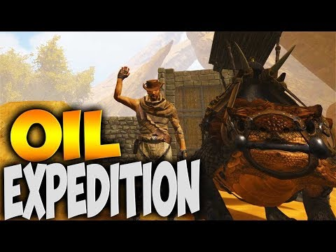 OIL EXPEDITION ON THE THORNY DRAGON! (Modded Ark Primal Fear & Capitalism Wild West Ep 4)
