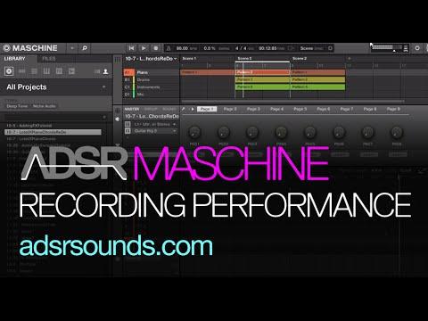 Maschine Tutorial - Recording Performances