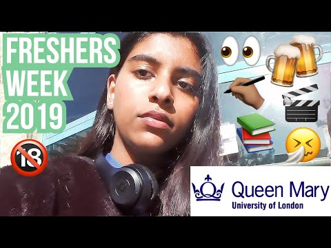 MY FRESHERS WEEK AT Queen Mary University Of London (QMUL) 2019 | Elvia Kiara