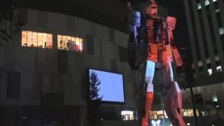 TOKYO ガンダムプロジェクト2014 プロジェクションマッピング G-party35