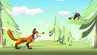 Ворона и лисица -- Лукоморье Пикчерз