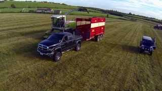 DODGE CUMMINS AT THE SILAGE