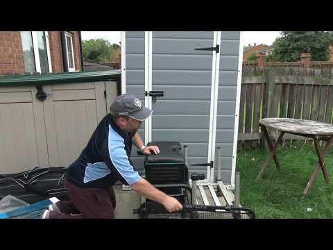 Preston Innovations Venta Lite Slim Line Tray Unboxing