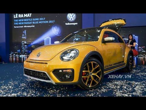 Volkswagen VN ra mắt Beetle Dune 2017 và Passat Bluemotion 2017 |XEHAY.VN|
