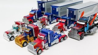 Transformers Movie 1 DOTM Deluxe Voyager Class Optimus Prime 7 Vehicles Robot Car Toys
