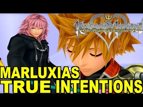 Kingdom Hearts: Marluxias True Intentions at Castle Oblivion Theory