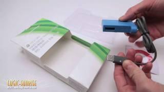 Câble de transfert pour disque dur Xbox 360 bleu - store.logic-sunrise.com