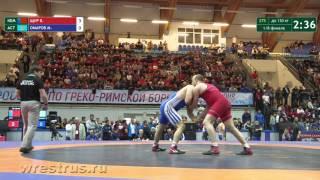130 кг. Щур_Омаров. 1/8 финала.