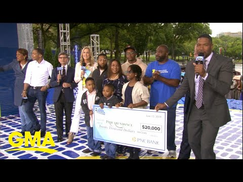 Willie Moore Jr. - Food bank Philabundance surprised with $20K check,