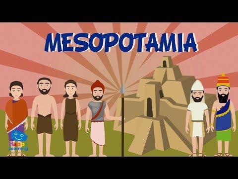 Mesopotamia. Una civilización entre dos ríos | Vídeos educativos para niños