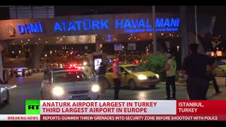 Istanbul airport attack: RT's live coverage