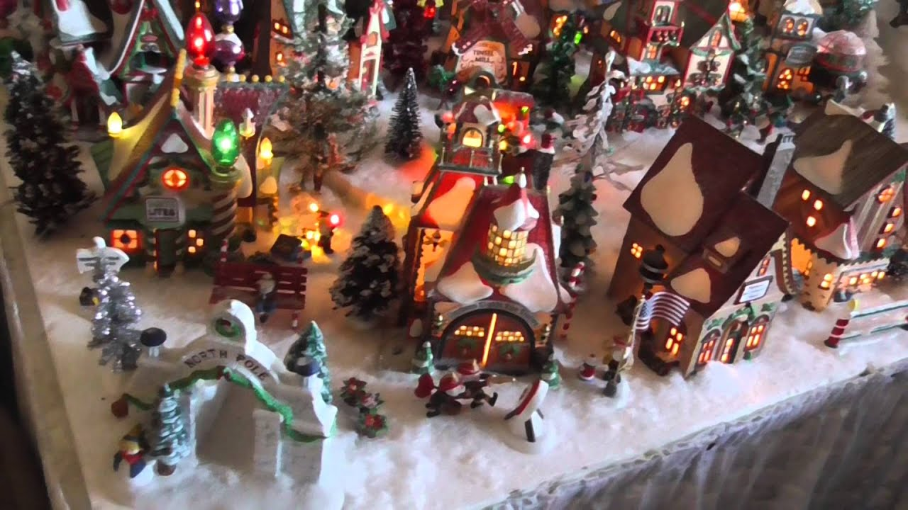 Department 56 North Pole Village - Christmas 2014 - YouTube