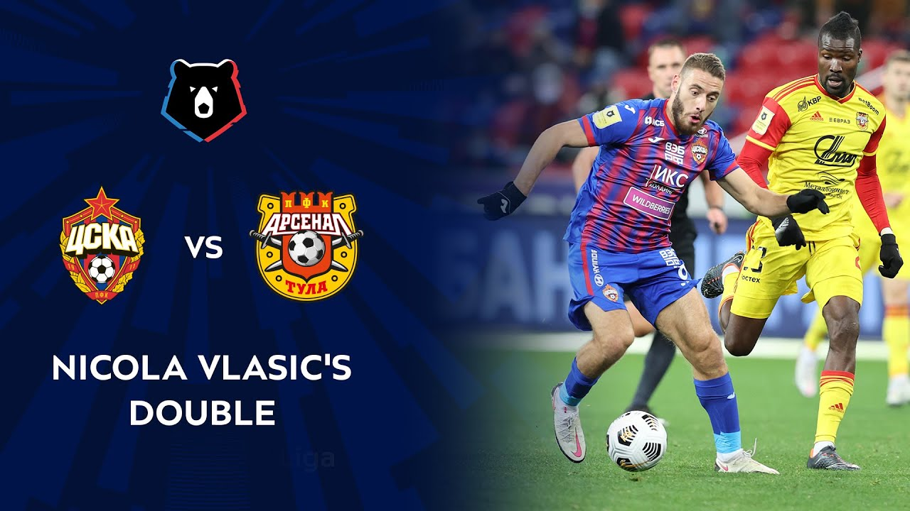 Nikola Vlasic's Double against Arsenal | RPL 2020/21