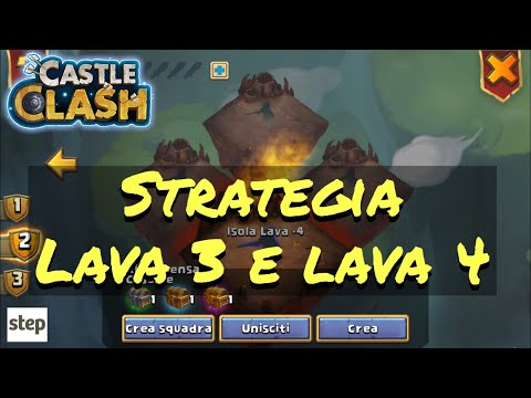 Castle Clash | Lava 3 E Lava 4 | Strategia | Castle Clash ITA