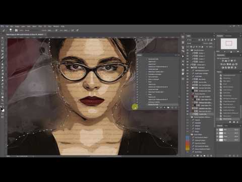 Modern Art Photoshop Actions (Instruction Video) by MassDream