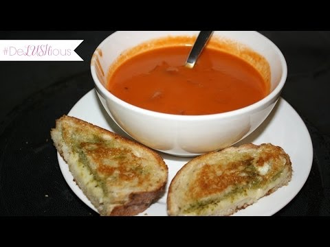 Rustic Tomato Soup #DeLUSHious