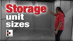 What Size Do You Need? Storage Unit Sizes.