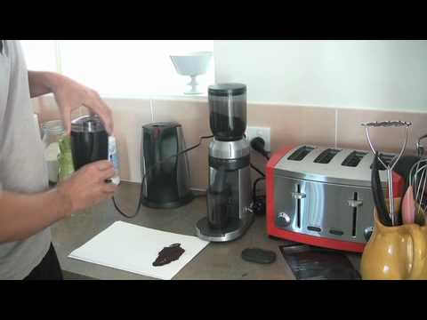 Sunbeam Emo480 Coffee Grinder Youtube