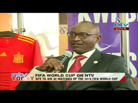 @alex_kobia: We are planning to transform NTV into the home of FIFA World Cup. #NTVWorldCup2018