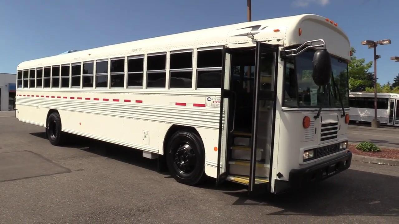 Blue Bird Bus >> 2012 Bluebird All American 44 Passenger Commercial Bus B86173