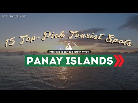 15 Top-Pick Tourist Spots in Panay Islands