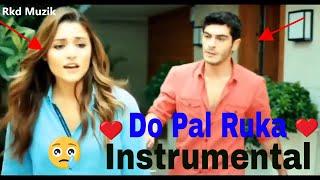Do Pal Ruka Instrumental Piano Karaoke | Lyrics| Rkd Muzik | Shah Rukh Khan | Sonu Nigam | Year 2020