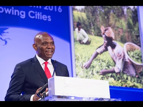 Global Keynote: Growing Food and Growing Entrepreneurs: Investing in the Fuel of Africa's Future