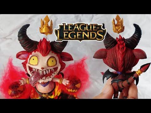 Insane Little Devil Teemo skin │ League of Legends