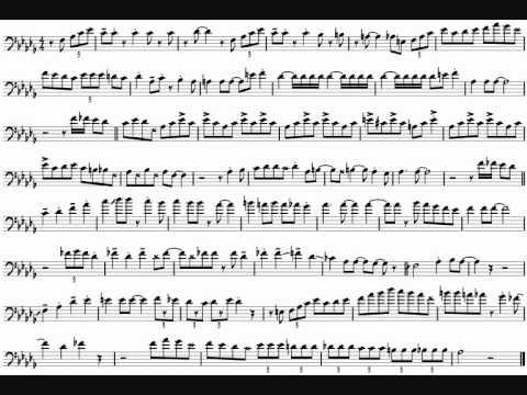 Carl Fontana 'Intermission Riff' Trombone Solo Transcription.