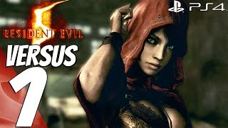 Resident Evil 5 (PS4) - Versus Gameplay Multiplayer Session Part 1 - First Matches [1080P 60FPS]