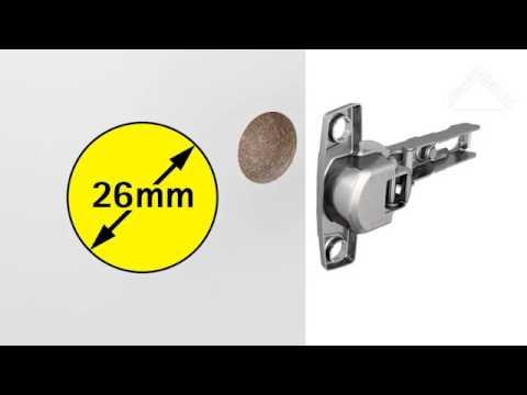 Utiliser Les Différents Diamètres De Charnière
