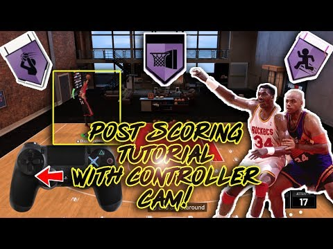 NBA 2K19 Post Scorer Tutorial With Cam! Unguardable Cheesy Ways To Score!