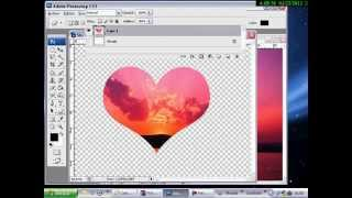Video Tutorial Imagen En Forma De Corazon Con Photoshop Make A Heart With Photoshop Youtube