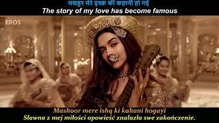 Shreya Ghoshal - Deewani Mastani Tłumaczenie PL