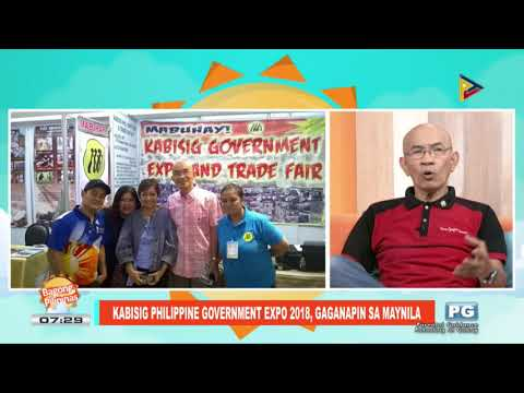 ON THE SPOT: Kabisig Philippine Government Expo 2018, gaganapin sa Maynila