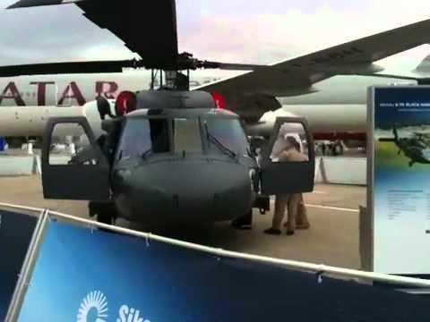 CH-148 Cyclone and polish Black Hawk