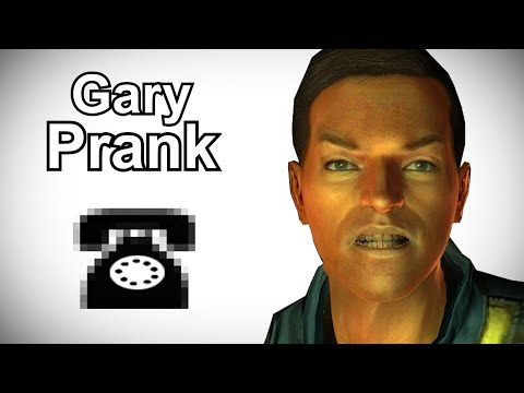 Gary Calls People Named Gary - Fallout 3 Prank Call