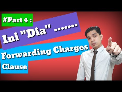Part 4: Coverage Institute Cargo Clauses A 1/1/82 - Forwarding Charges Clause