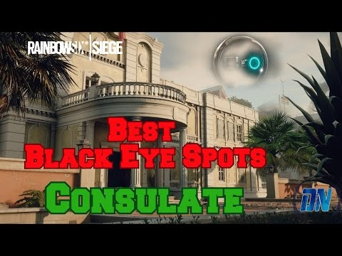 Best Black Eye Camera Spots - Consulate - Rainbow Six Siege