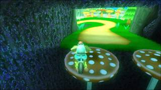 [MKWii TAF] Mushroom Gorge Freerun #3