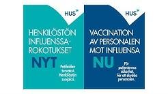 Henkilöstön influenssarokotus - miksi otan rokotteen?